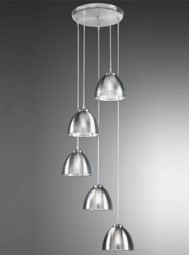 Franklite CO9575/927 Satin Nickel Pendant Light